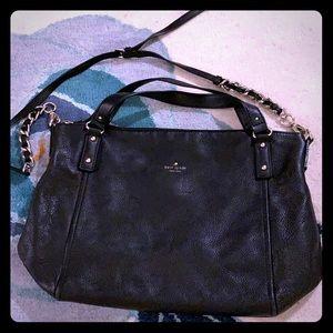 Kate Spade Black Crossbody Leather Bag